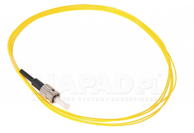 Pigtail optyczny ST/UPC SM 9/125 G.652D 2m