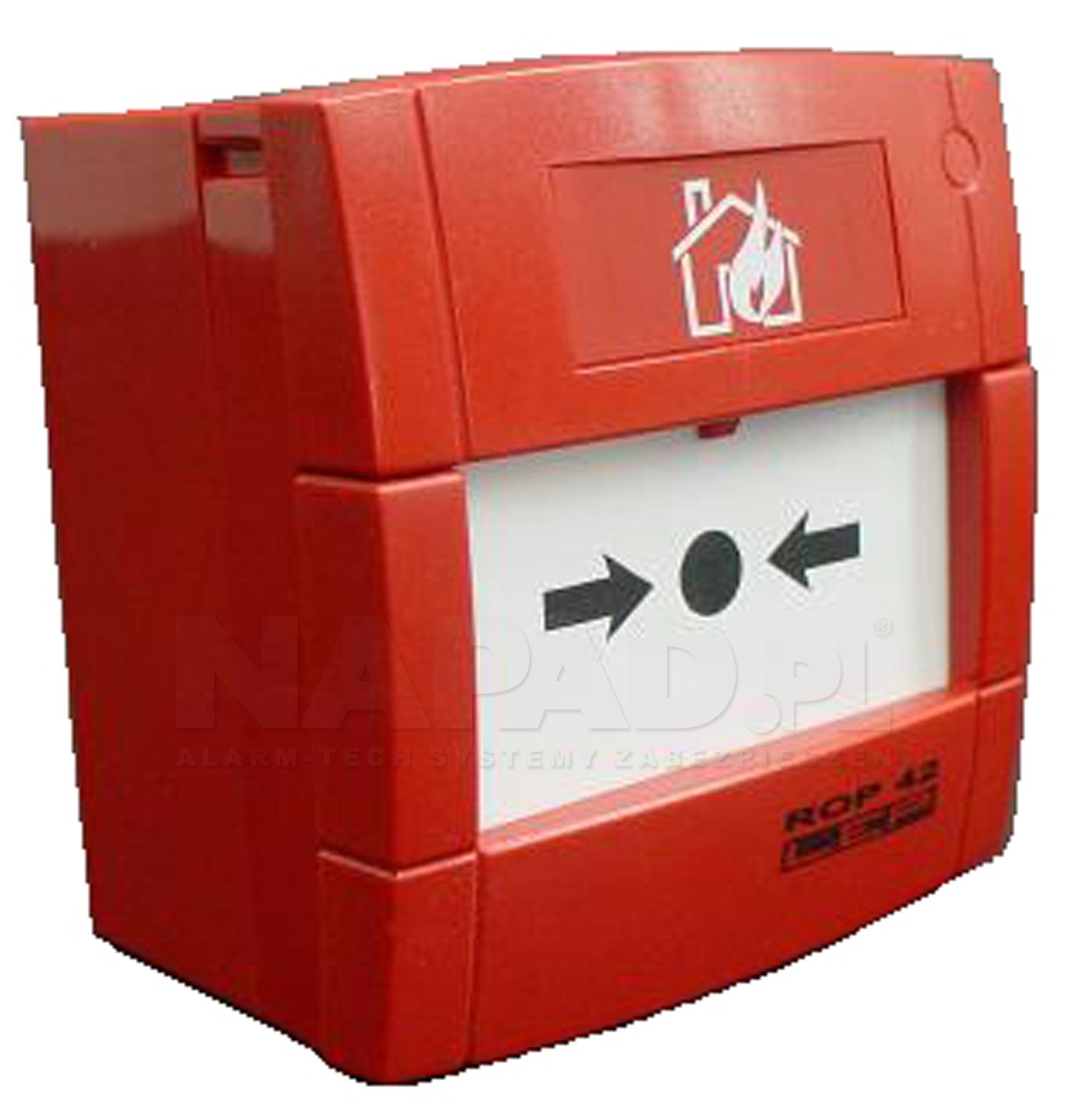 Adresowalny ręczny ostrzegacz pożarowy ROP42