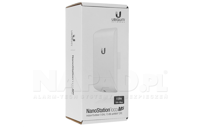 Punkt dostępowy NanoStation LocoM5