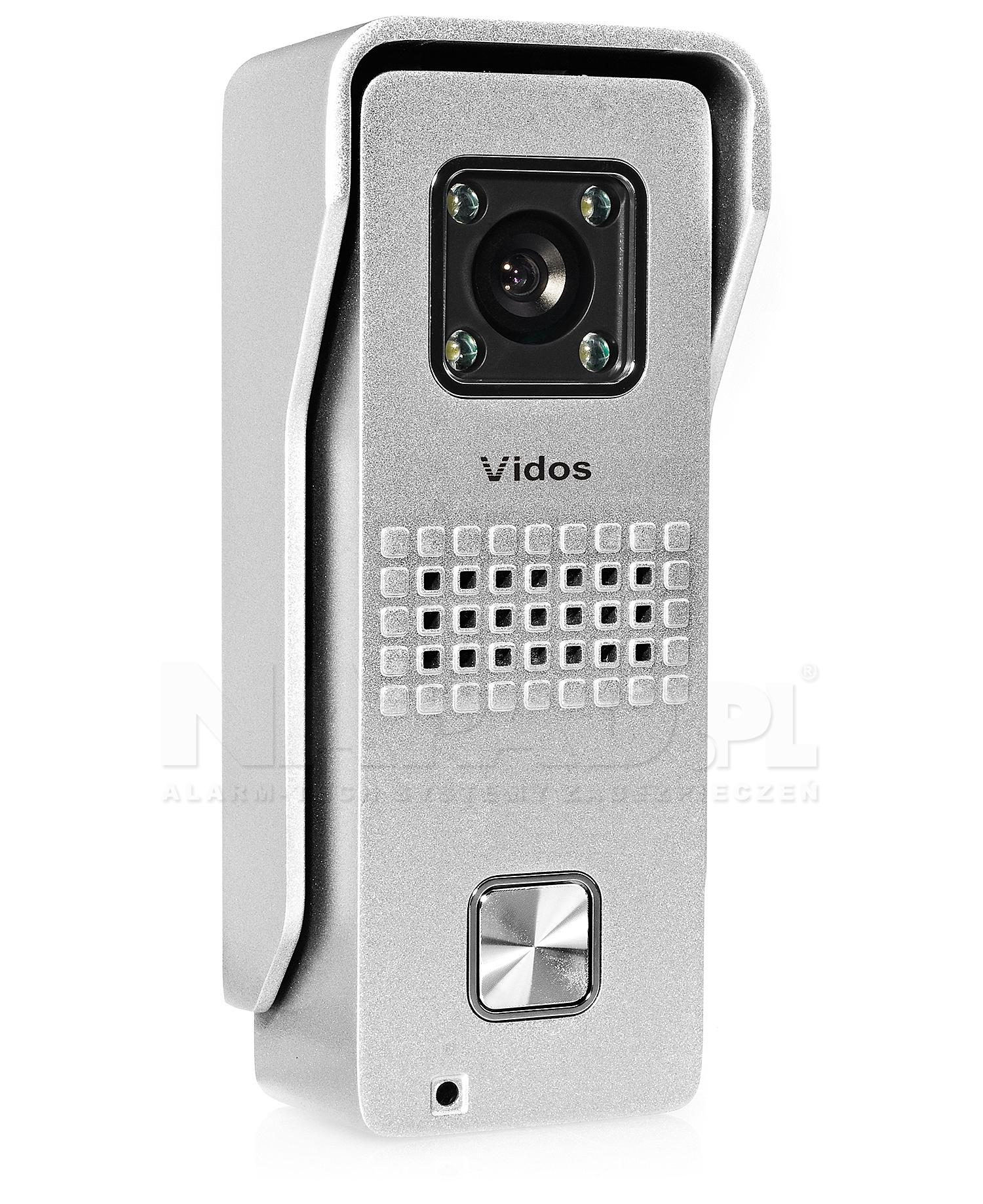 S6 - Jednoabonentowa stacja bramowa z kamerą
