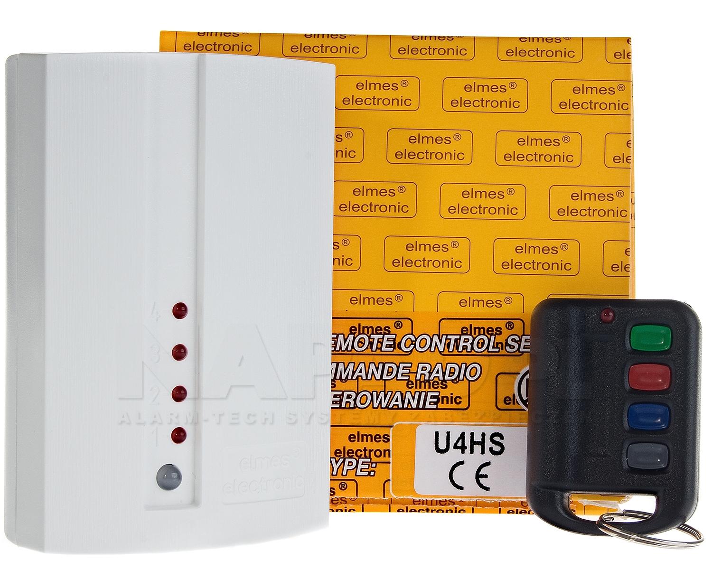 U4HS - Sterownik radiowy 4 kanałowy