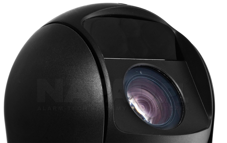 BCS-SDHC4230-II - Nowoczesny oświetlacz IR Black Glass.