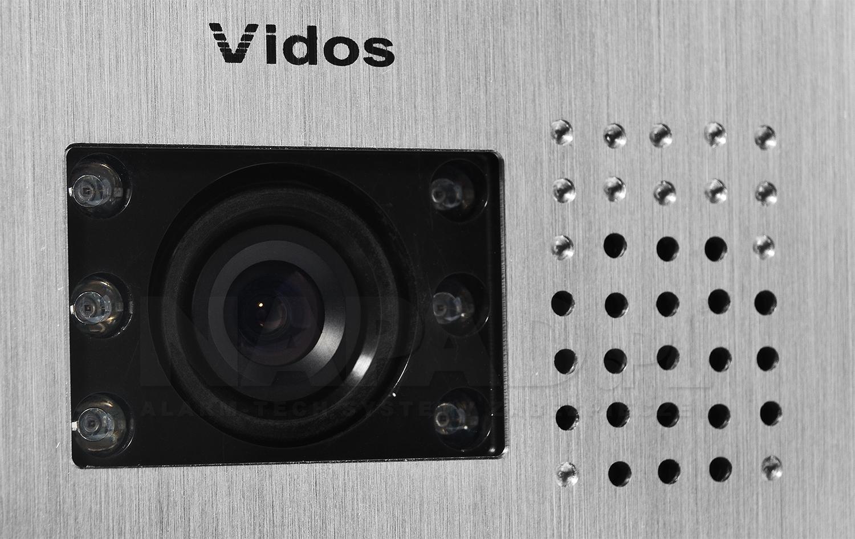 S601 - Jednoabonentowa stacja bramowa z kamerą