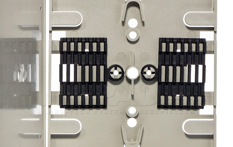 Kaseta T1 na 12 spawów światłowodowych