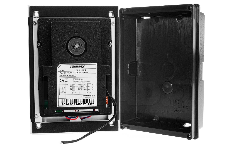 Drc 41un Kamera Wideodomofonowa Commax Wideodomofony W Wiring Diagram