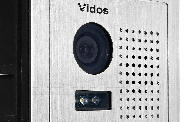 S603D-2 - Wbudowana kamera w stacji bramowej.