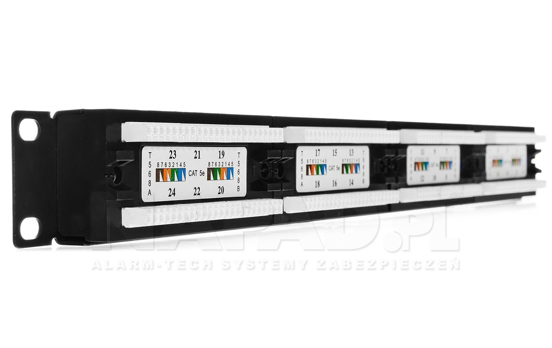 Patch panel 24-porty UTP5e 19