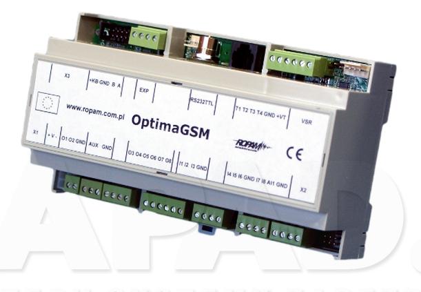 Centrala alarmowa OptimaGSM-D9M