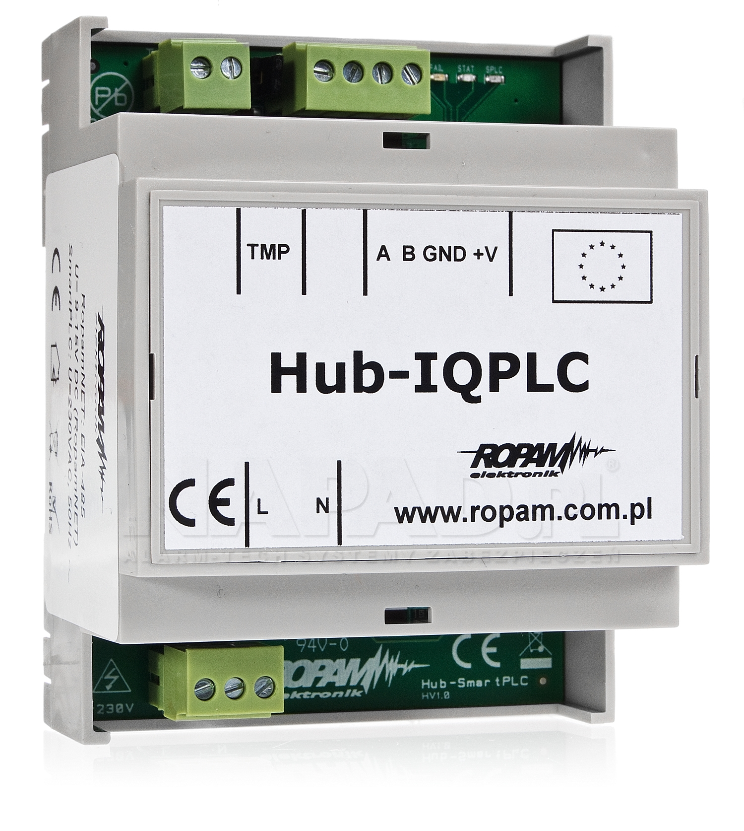 Koncentrator systemowy sieci Hub-IQPLC-D4M