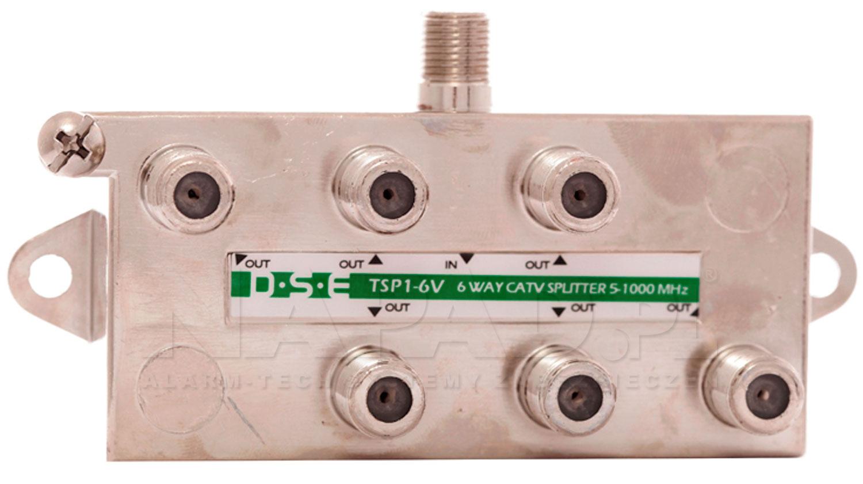 Rozgałęźnik CATV 1x6 DSE TSP1-6V