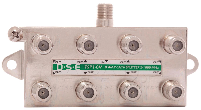 Rozgałęźnik CATV 1x8 DSE TSP1-8V