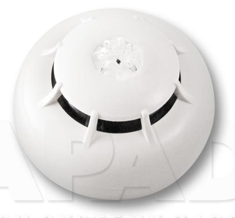 Adresowalny czujnik dymu i ciepła ED300