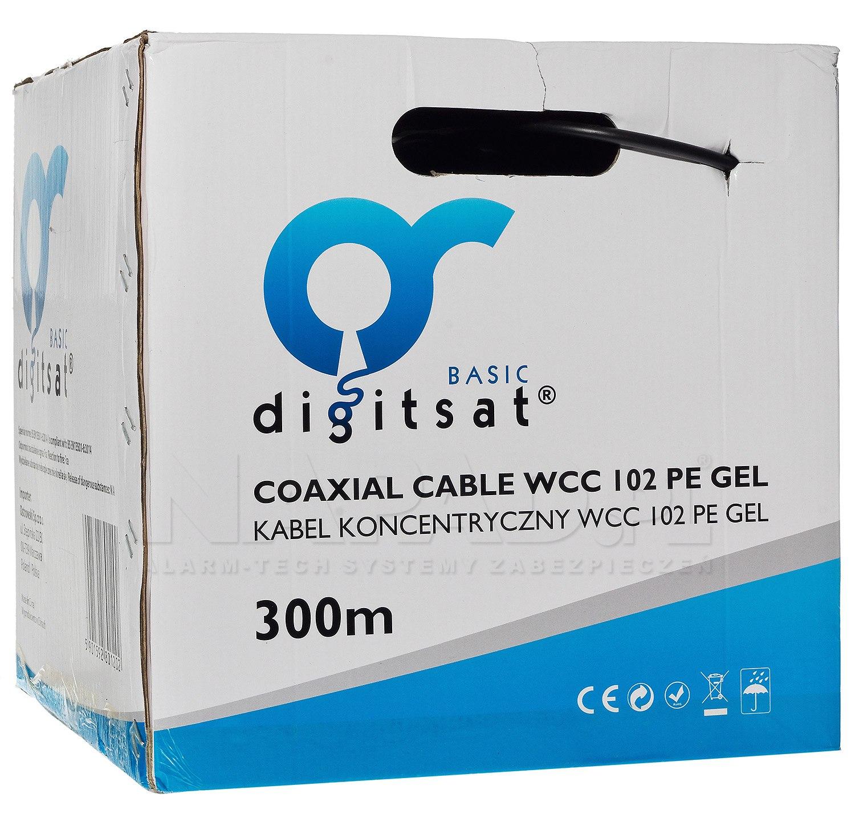 Kabel koncentryczny Digisat WCC 102PE