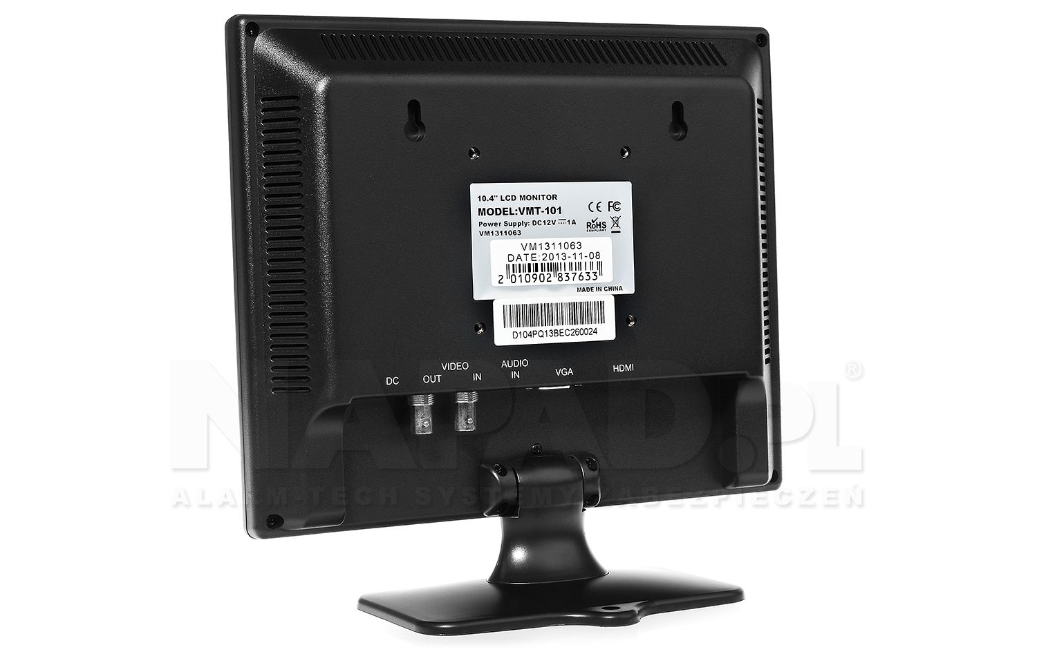 Monitor LED VMT-101 10.4