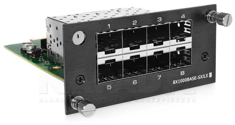 Moduł światłowodowy 8-portowy IPOX SW8GE-SFP