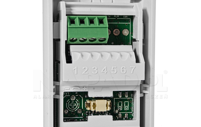 Zewnętrzny czujnik kurtynowy NV35MX (adresowalny)
