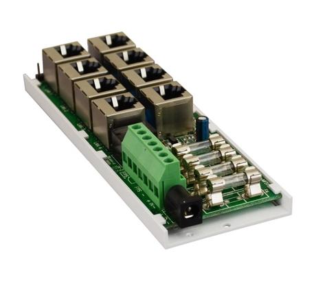 Moduł dystrybucji zasilania dla urządzeń IP/LAN PoE AWZ603