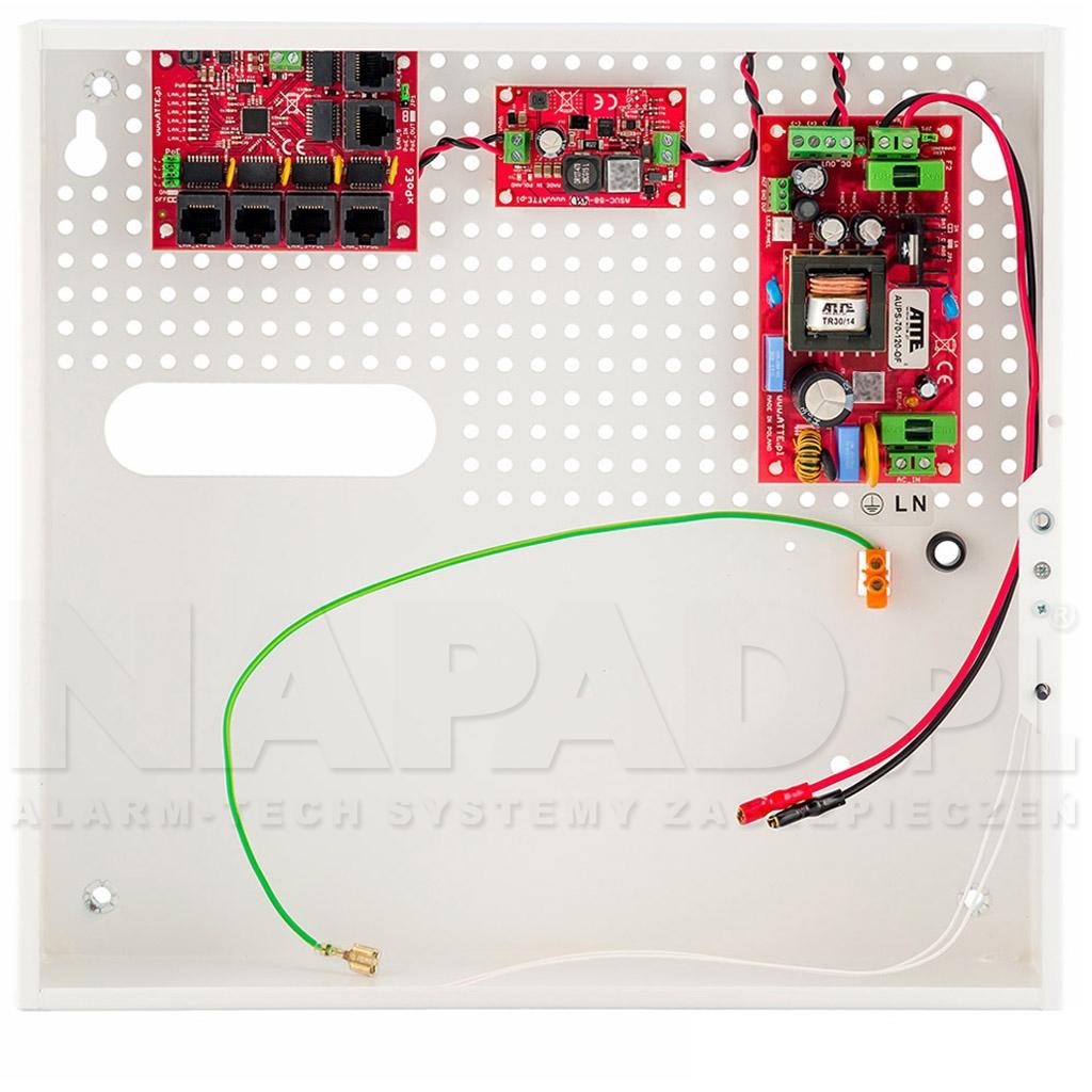 Switch 5-portowy PoE IPUPS-5-11-F