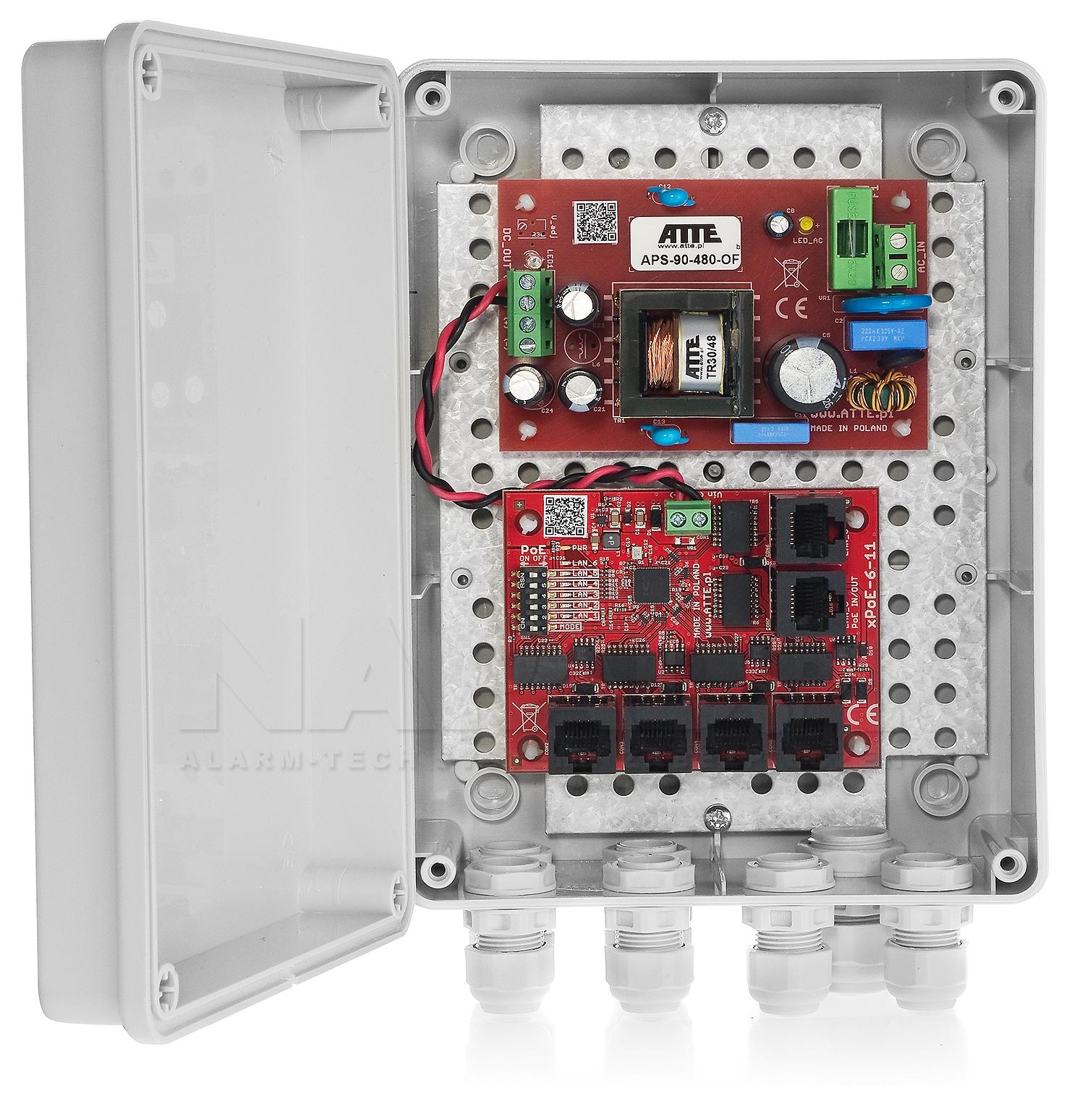 Switch 5-portowy PoE IP-5-11-M2