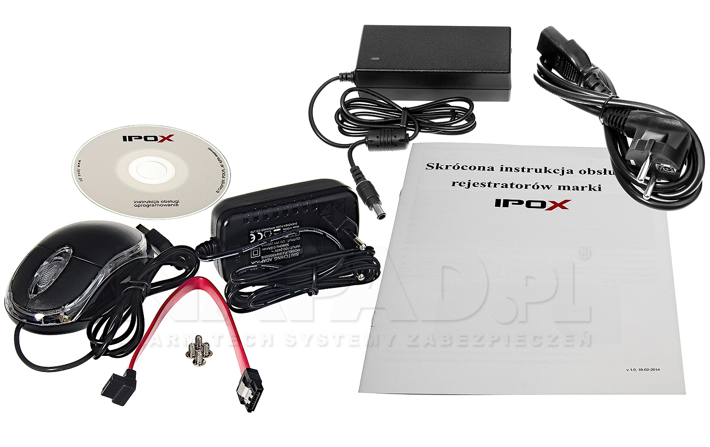Sieciowy rejestrator PX-NVR3008EA-P4