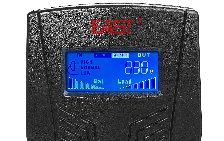 Zasilacz awaryjny UPS AT-UPS650-LCD wolnostojący