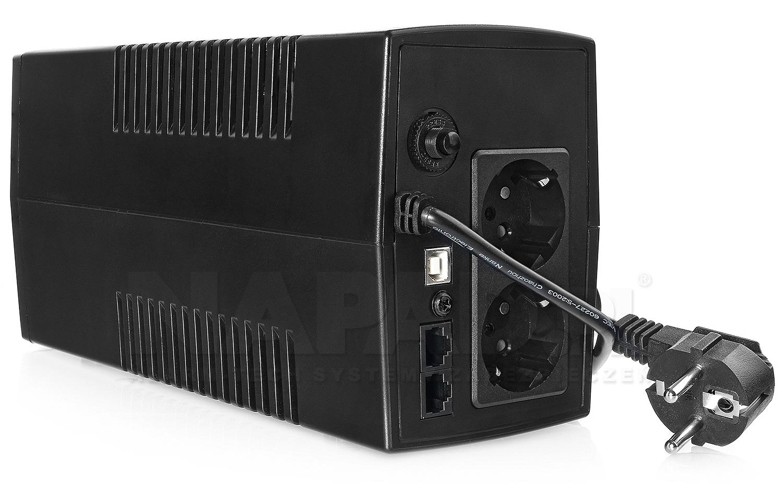Zasilacz awaryjny UPS650-LCD