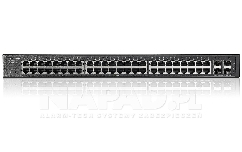 Switch gigabitowy, 48-portowy TL-SG2452 RACK 19'' TP-Link