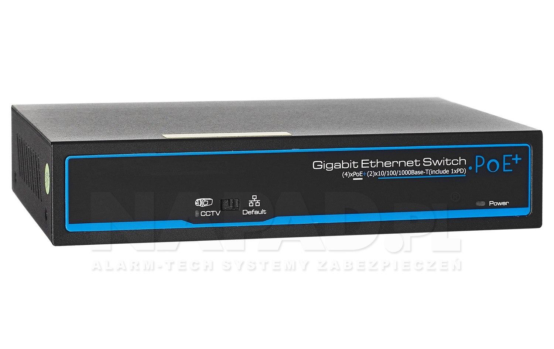 Gigabitowy switch 4-portowy PX-SW4G-TPD60-U1G