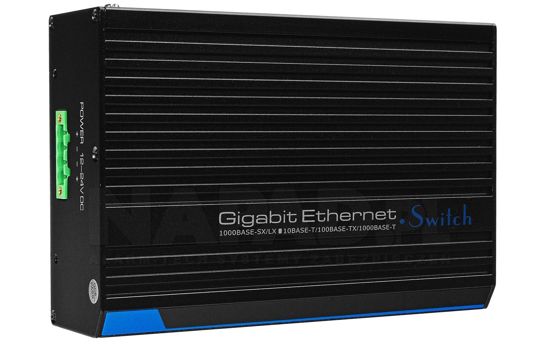 Gigabitowy switch 4-portowy UTP7204GE