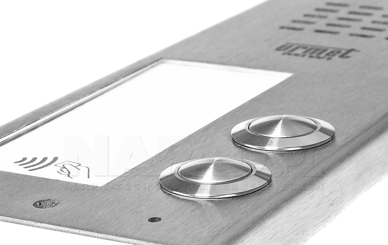 Płyta domofonowa z 2 przyciskami ELITE 6025/PR2-RF