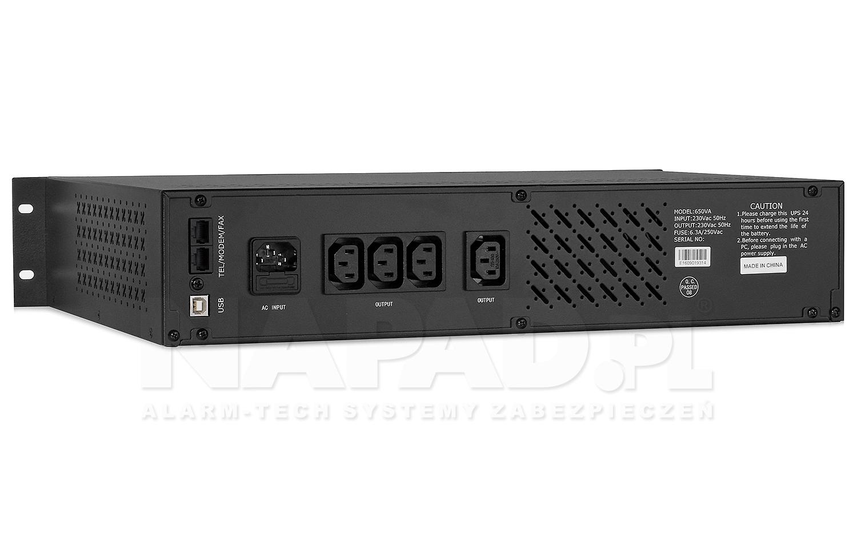 Zasilacz awaryjny UPS650R RACK