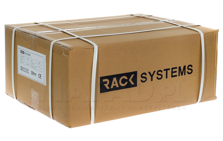 Szafa Rack 19'' 6U 600mm wisząca W6606W