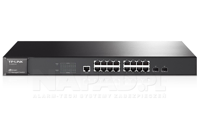 Switch gigabitowy, 16-portowy TL-SG3216 JetStream