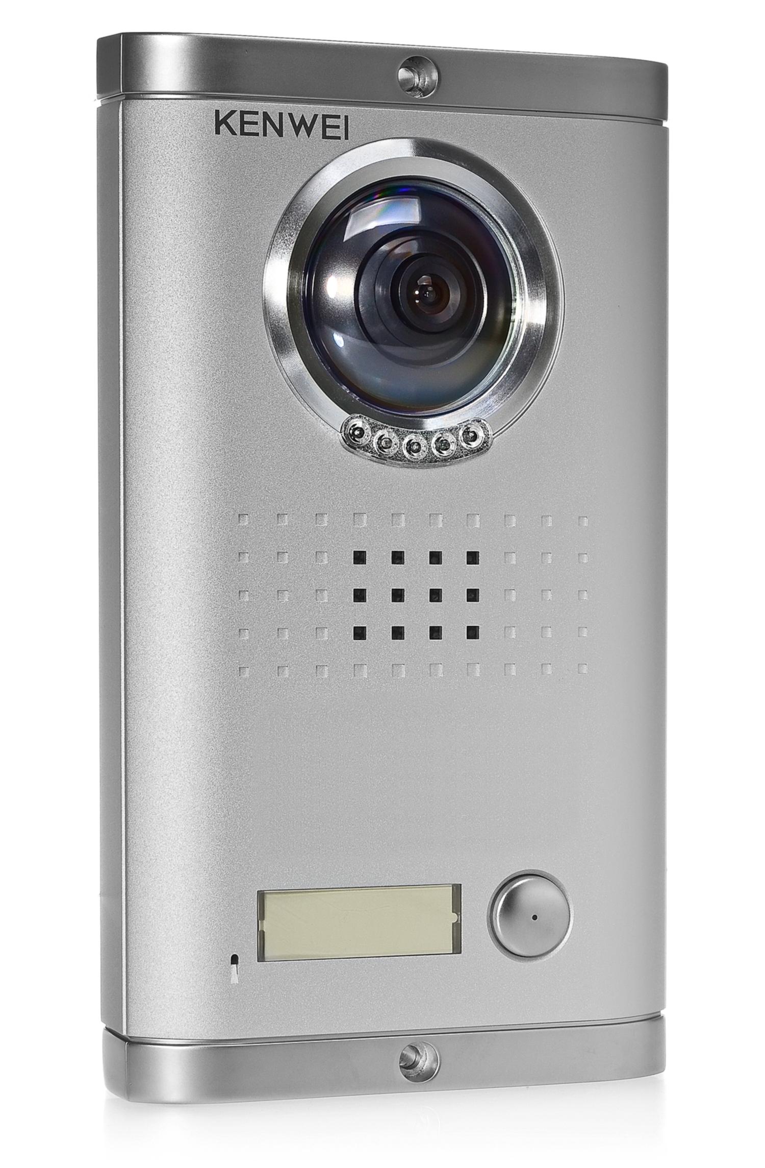 Panel zewnętrzny do wideodomofonu VKW-1380MC-1BS 600 linii TVL