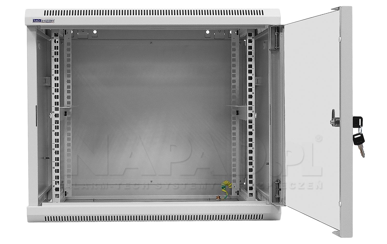 Szafa Rack 19'' 9U 600mm wisząca W6609