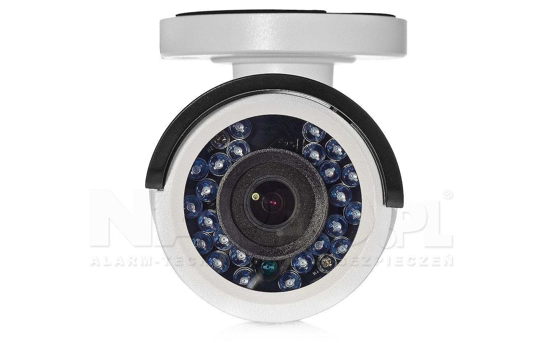 DS-2CE16D0T-IR - Wydajny oświetlacz wbudowany w kamerze.