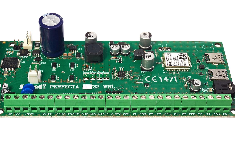 Płyta główna centrali alarmowej PERFECTA 32-WRL