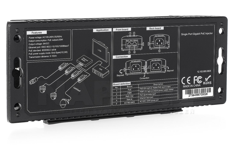 Adapter PoE UTP7201GE-PSE30