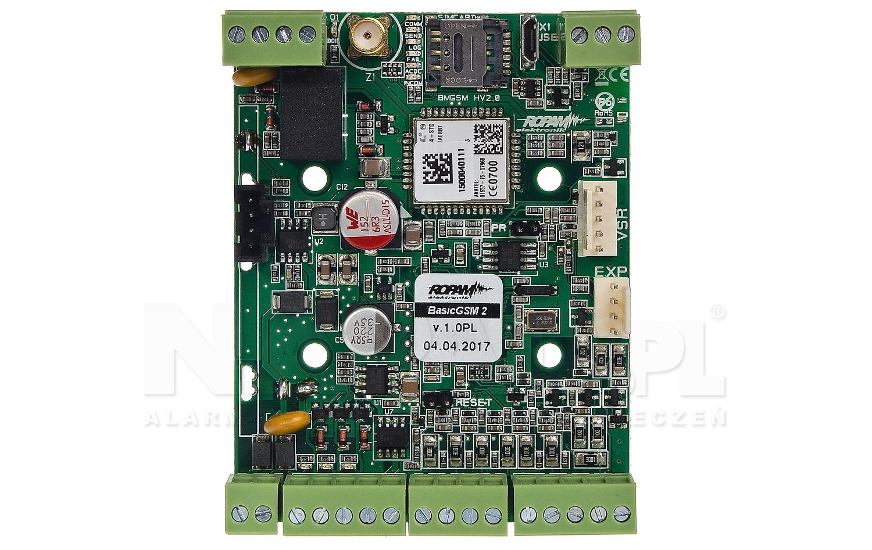 Moduł powiadomienia i sterowania GSM BasicGSM 2