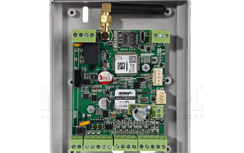 Moduł powiadomienia i sterowania GSM BasicGSM-BOX 2