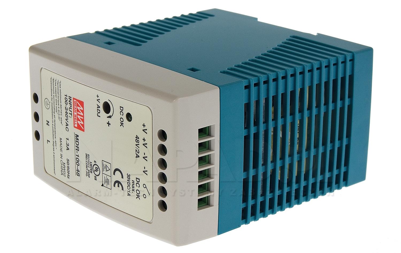 Zasilacz impulsowy MDR-100-48