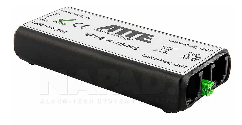 Switch 4-portowy PoE xPoE-4-11-HS