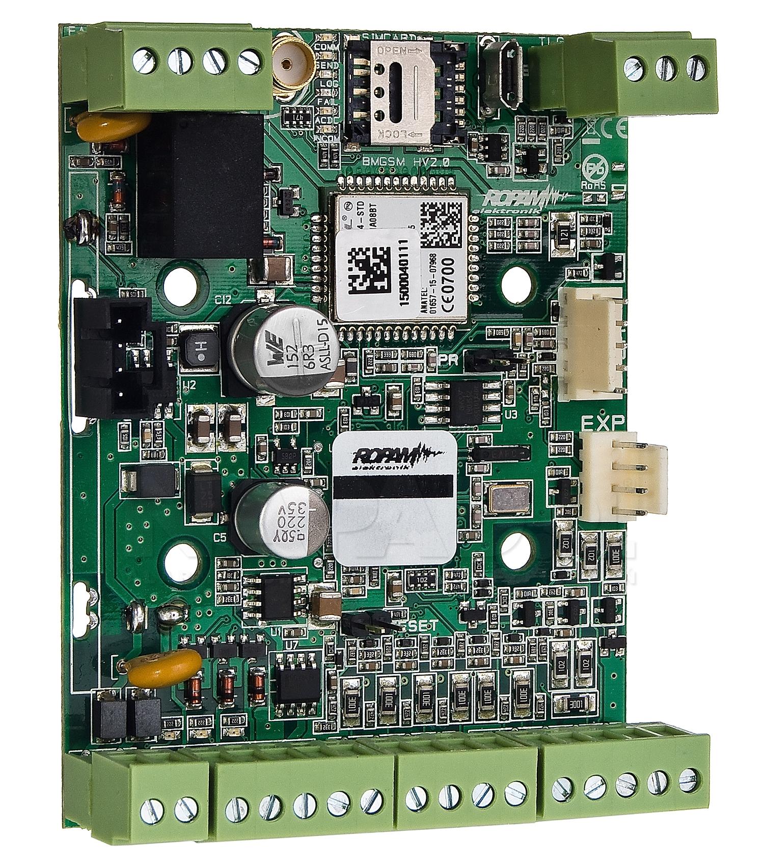 Moduł powiadomienia i sterowania GSM MultiGSM 2