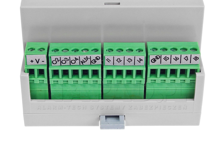 Moduł powiadomienia i sterowania GSM MultiGSM-PS 2 z zasilaczem