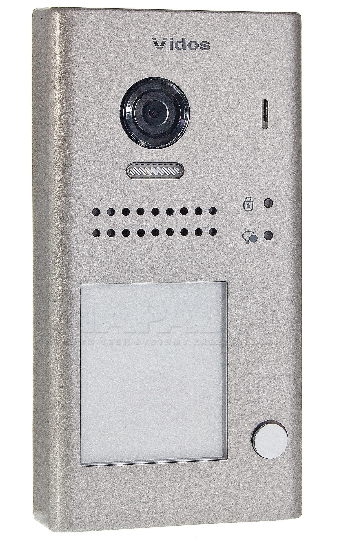 Jednoabonentowa stacja bramowa z czytnikiem RFID S1101-A