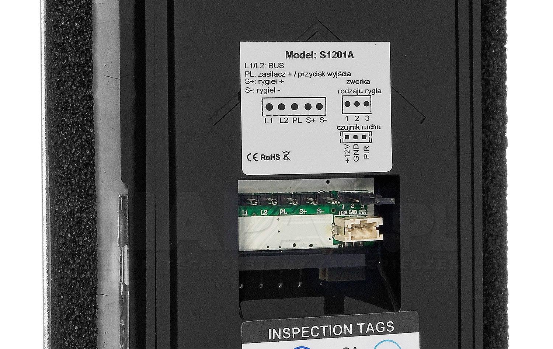 Jednoabonentowa stacja bramowa z czytnikiem RFID S1201A