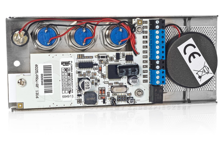 Płyta domofonowa z 3 przyciskami ELITE 6025/PR3-RF