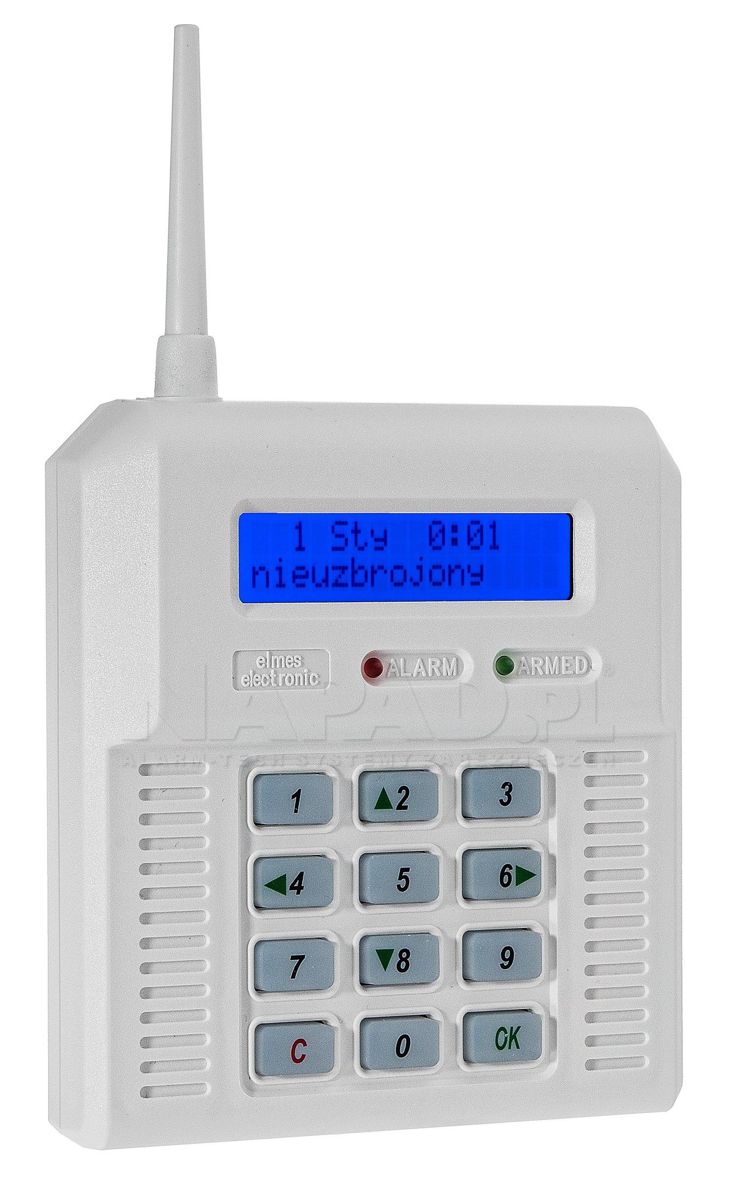 CB32BZ - Bezprzewodowa centrala alarmowa
