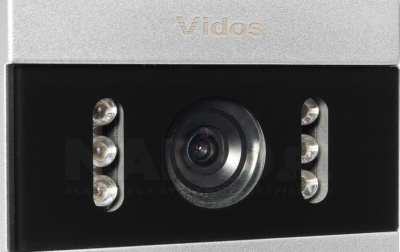 S50A - Jednoabonentowa stacja bramowa z kamerą i czytnikiem RFID