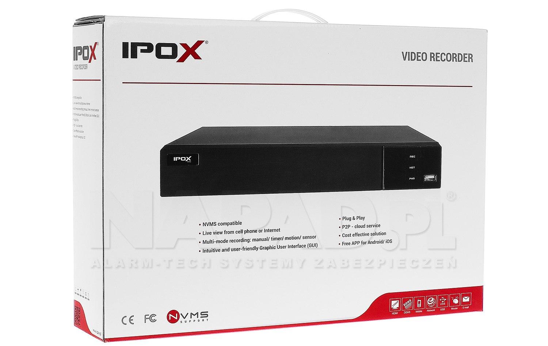 Rejestrator sieciowy PX-NVR0451H-P4-E